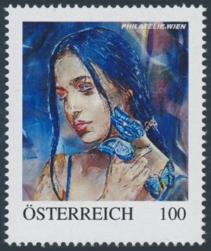 8137695 - PM - Personalisierte Marke - Woman & Butterfly - PHILATELIE.WIEN - Postfrisch ** / DB / Kommissionsverkauf