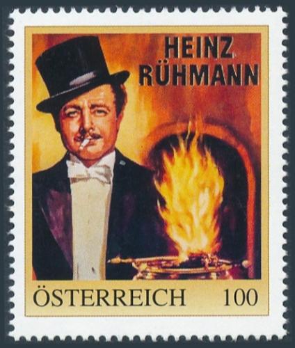 8138234 - PM - Personalisierte Marke - Heinz Rühmann - Die Feuerzangenbowle - Film - Kino - Postfrisch ** / DB / Kommissionsverkauf