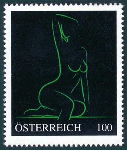 8138235 - PM - Personalisierte Marke - Erotik - Akt - Frau - Postfrisch ** / DB / Kommissionsverkauf