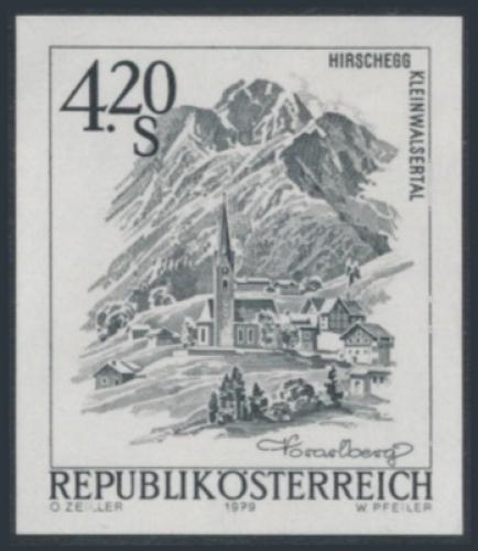 ANK 1644 - SD - Schwarzdruck - Schönes Österreich - 4,20 Schilling / DB / Kommissionsverkauf