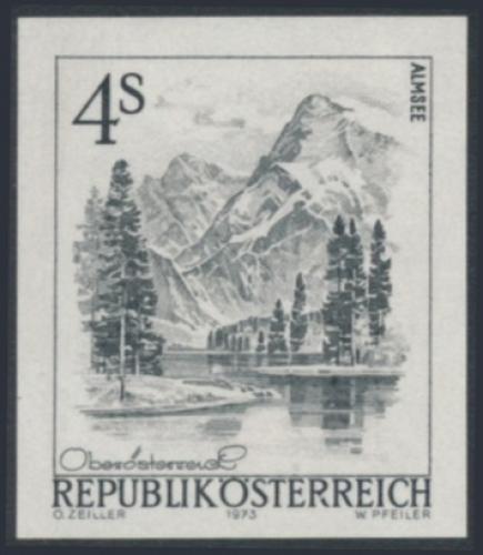 ANK 1589 - SD - Schwarzdruck - Schönes Österreich - 4,00 Schilling / DB / Kommissionsverkauf