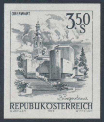ANK 1588 - SD - Schwarzdruck - Schönes Österreich - 3,50 Schilling / DB / Kommissionsverkauf