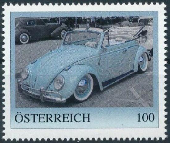 8136916 -PM - Personalisierte Marke - Auto - Volkswagen - VW KÄFER CABRIO - Postfrisch ** / DB / Kommissionsverkauf