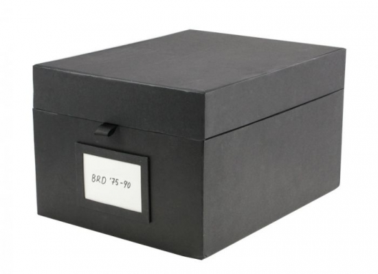 BOX BLACK EDITION FÜR A6 STECKKARTEN