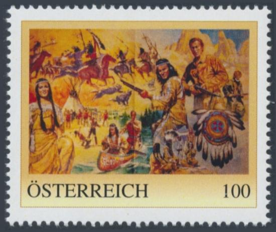 8138433 - PM - Personalisierte Marke - Winnetou - Old Shatterhand - Postfrisch ** / DB / Kommissionsverkauf