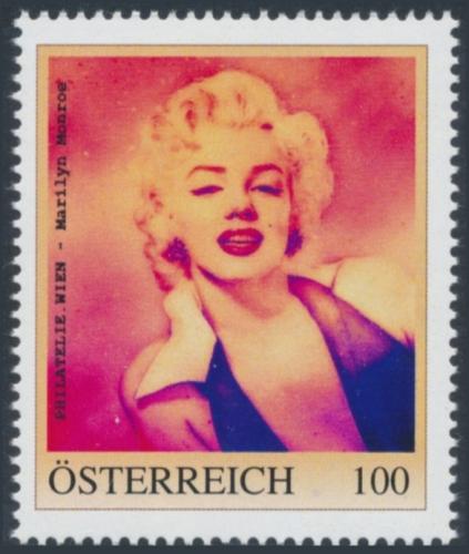 8138427 - PM - Personalisierte Marke - PHILATELIE.WIEN - Marilyn Monroe - Postfrisch ** / DB / Kommissionsverkauf