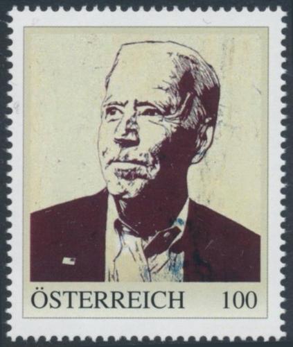 8138468 - PM - Personalisierte Marke - USA - US Präsident - Joe Biden - Postfrisch ** / DB / Kommissionsverkauf