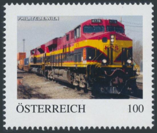 8138464 - PM - Personalisierte Marke - PHILATELIE.WIEN - Eisenbahn - KCS 4776 - Postfrisch ** / DB / Kommissionsverkauf