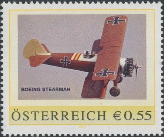 8006617 - PM - Personalisierte Marke - Flugzeug - Boeing Stearman - Postfrisch ** / DB / Kommissionsverkauf