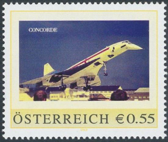 8004496 - PM - Personalisierte Marke - Flugzeug - Concorde - Postfrisch ** / DB / Kommissionsverkauf