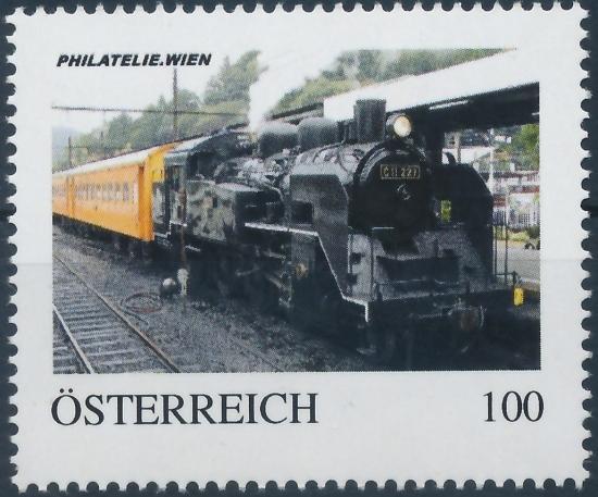 8137498 - PM - Personalisierte Marke - Eisenbahn - Dampflok - Ōigawa-Eisenbahn CII 227 - PHILATELIE.WIEN - Postfrisch **