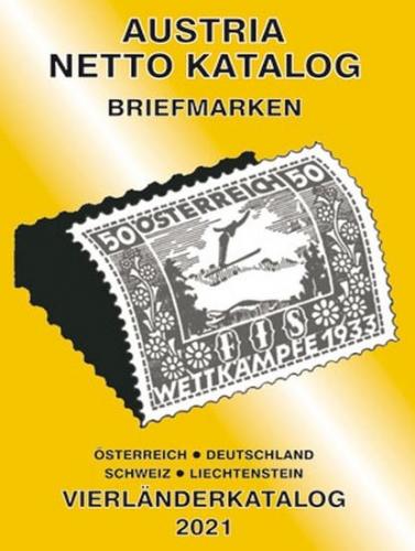 ANK-Briefmarken Vierländerkatalog 2021