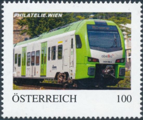 8138042 - PM - Personalisierte Marke - PHILATELIE.WIEN - Eisenbahn - abellio 3429008 - Postfrisch ** / DB / Kommissionsverkauf