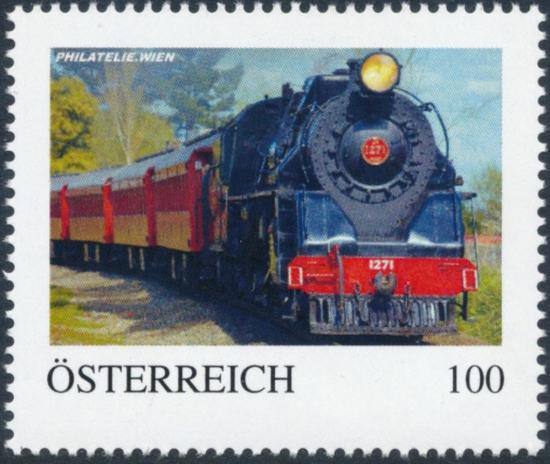 8138044 - PM - Personalisierte Marke - PHILATELIE.WIEN - Eisenbahn - JA 1271 NZGR - Postfrisch ** / DB / Kommissionsverkauf