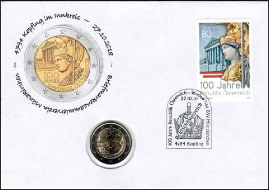 100 Jahre Republik Österreich Nr. 31b