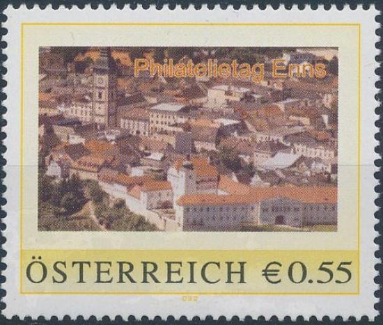 8007123 - PM - Personalisierte Marke - Philatelietag 4470 Enns - Postfrisch ** / DB / Kommissionsverkauf