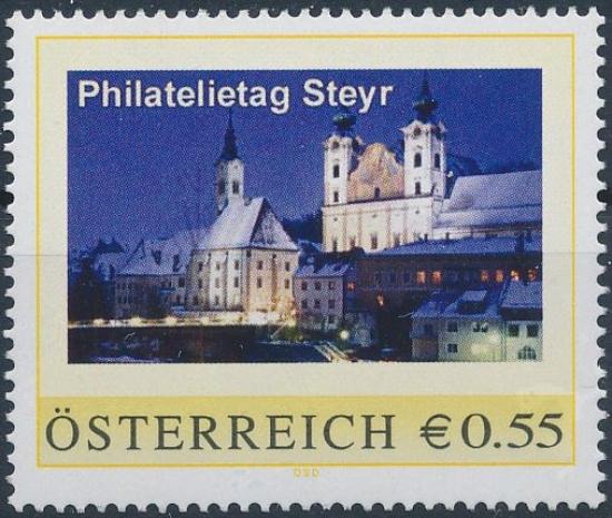 8009517 - PM - Personalisierte Marke - Philatelietag 4400 Steyr - Postfrisch ** / DB / Kommissionsverkauf