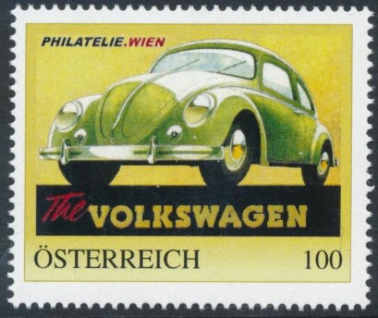 8137569 - PM - Personalisierte Marke - The Volkswagen - VW-Käfer - PHILATELIE.WIEN - Postfrisch **
